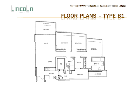 singapore floor plan the lincoln residences floor plan b1 my singapore property agent