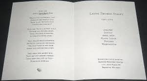 michael jackson funeral program layne staley s funeral program feelnumb