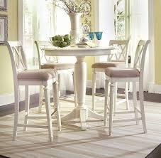 Bar Height Table Creditrestoreus - Bar height dining table white