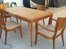 heywood wakefield butterfly dining table heywood wakefield dining chairs collection on ebay