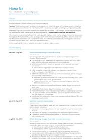 Director Resume Examples by Senior Marketing Manager Resume Samples Visualcv Resume Samples