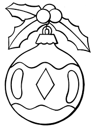 Christmas Ornament Christmas Tree Coloring Merry Christmas Tree Coloring Pages Ornaments