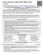 Ccnp Resume Format Write Bibliography Book Report It Desktop Support Resume Sample