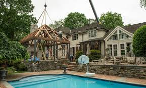 poolhouse timber frame pool house archives hugh lofting timber framing inc