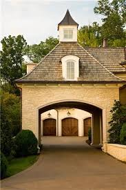 a porte cochere a covered space that allows you to get in and