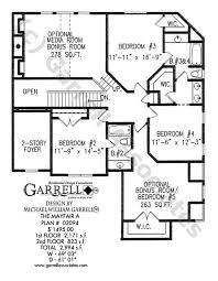 Media Room Plans - mayfair a house plan house plans by garrell associates inc
