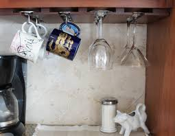 under cabinet coffee mug rack under cabinet coffee cup hooks the coffee table