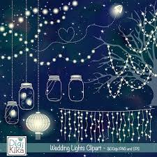 wedding lights wedding lights clip vector string lights firefly