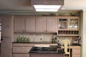 kitchen cabinet refacing painting oak cabinets with old chalk