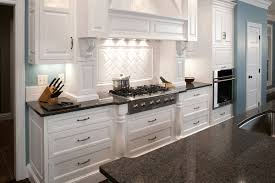 White Kitchen Cabinets And Black Countertops by Wood Dark Kitchen Cabinets Dtmba Bedroom Design