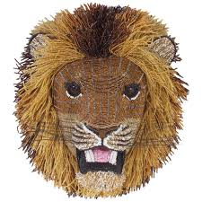 south african beaded lion head for sale at 1stdibs