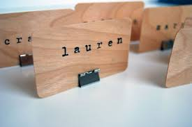 diy place cards hippanonymous diy wooden place cards