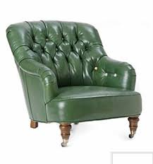 Comfy Chairs For Bedrooms by Furniture Green Leather Comfy Chair With Arm And Tufted Back