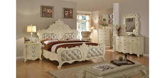 Meridian Bedroom Furniture by Meridian Novara Bedroom Set In Pearl White Finish