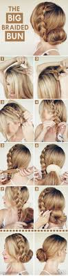 homecoming hair braids instructions top 10 hairstyle tutorials for summer sock bun hairstyles top