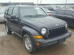2006 black jeep liberty 1j8gl48k86w171046 2006 black jeep liberty on sale in oh