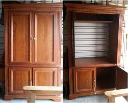 Tv Armoire Tv Armoire Converted For Storage Faux Get Me Nots Victoria Tx