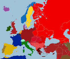 Map Of Eurpoe Map Of Europe After 1938 By Tiltschmaster On Deviantart