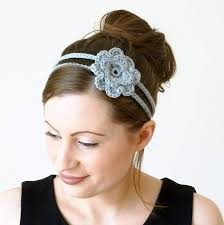 crochet flower headband crochet floral headband crafthubs