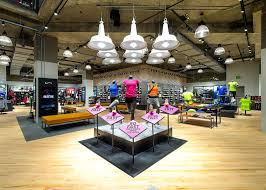 Home Design Stores Seattle Redesigned Nike Store Shines In The Emerald City Nike News
