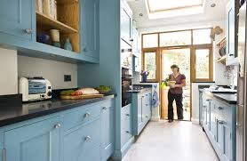 blue cabinets in kitchen simplest kitchen cabinet painting ideas home painting ideas