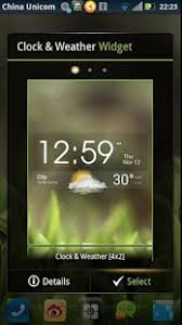 clock and weather widgets for android ez clock weather widget android apps on play