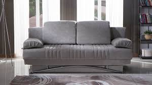 fantasy valencia gray convertible sofa bed by sunset