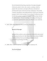 Sample Resume For Purchasing Agent by Sample Resume Of Purchasing Agent