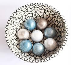 light blue decorative balls decorative capiz shell balls 4 light blue rua collection