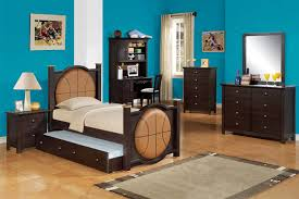 Youth Bedroom Set With Desk Kids Bedroom Furniture Sets For Boys In Basketball Theme Decor
