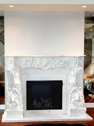 Custom Fireplace Surrounds by Marble Mantels Custom Fireplace Mantel Shopstonefireplaces Com