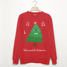 rockin around the christmas tree men u0027s sweatshirt by batch1