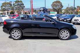volkswagen convertible eos used volkswagen eos tdi 1f ferntree gully kia
