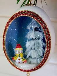 vintage egg ornament tutorial by ohsohappytogether via flickr