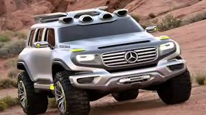 mercedes benz ener g force suv concept car 2012 youtube