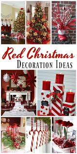 Bright Christmas Decorations Top Red Christmas Decorations Christmas Celebrations