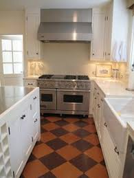 Kitchen Floor Coverings Ideas Cork Flooring In Honeycomb Hexagonal Tiles Sustainable Flooring