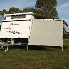 Caravan Rollout Awnings Caravansplus Camec Pop Top 90 Screen Flat Top 2 1m Wide X 1 8m
