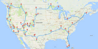 Baja Map Researcher Determines The Optimal Map For Visiting National Parks