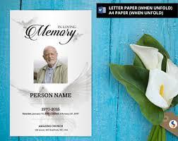 obituary etsy