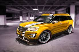 Ford Explorer Off Road Parts - ford previews explorer edge concepts for sema