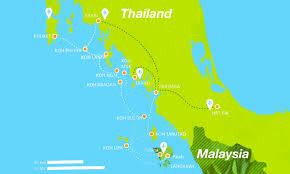 Sun Country Route Map by Ultimate Guide To Koh Lipe Thailand 2017 Edition