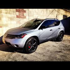 nissan murano off road street dreams autosport toronto full matte grey wrap with gloss
