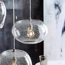 Glass Pendant Light Roost Seeded Glass Pendant Lamps U2013 Modish Store