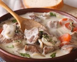 recettes de cuisine anciennes recette blanquette de veau à l ancienne