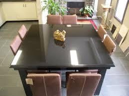 granite dining table set amazing kitchen black granite dining room table top set on find