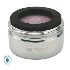 Aerator On A Faucet Neoperl 1 2 Gpm Regular Male Pca Water Saving Faucet Aerator