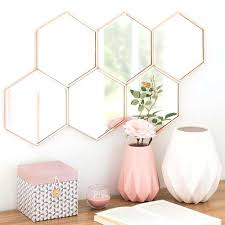 Gold Accent Wall Decor Rose Gold Wall Decor Stirring Home Inspired