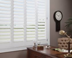 newstyle hybrid shutters bella interior designs office window treatment bella interiors
