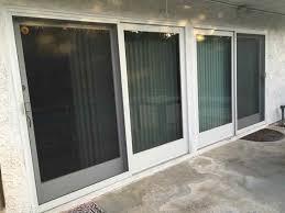 Patio Door Glass Repair Patio Insulated Sliding Door Glass Wall Door Balcony Door Blinds